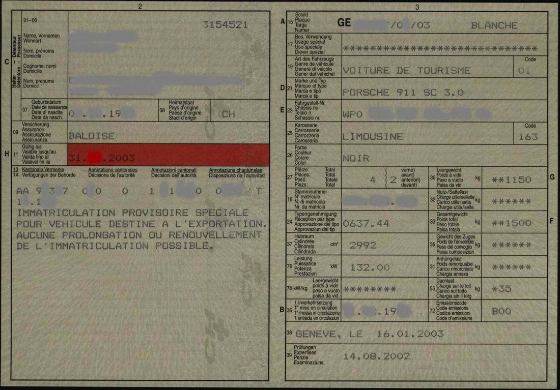 Exp rience acheter une 911 en suisse - Chelidoine verrue ou en trouver ...